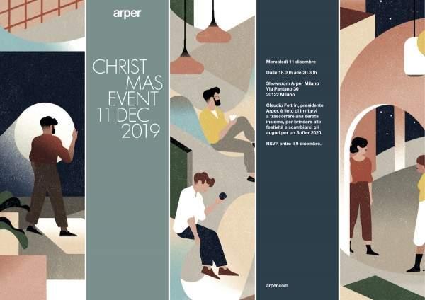 Arper Xmas event 2019