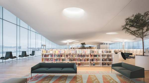 Arper's products for the new Library in Helsinki