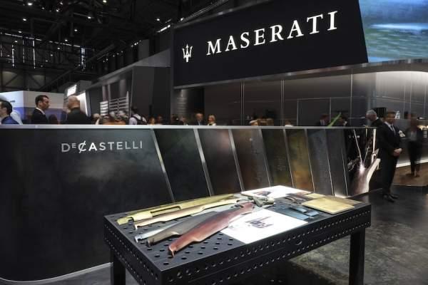 De Castelli for Maserati