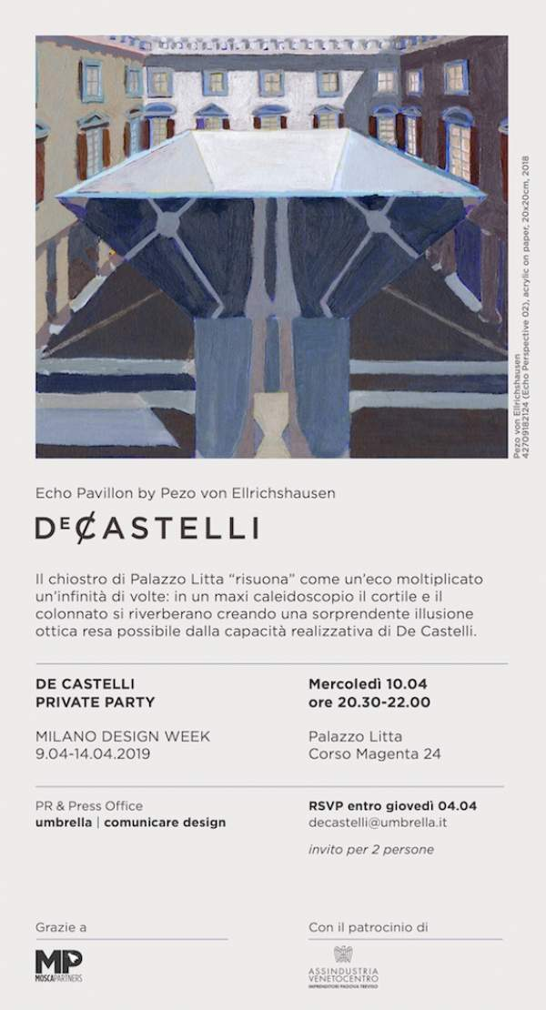 De Castelli Private Party  a Palazzo Litta