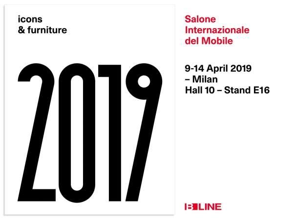B-LINE al Salone del Mobile.Milano 2019
