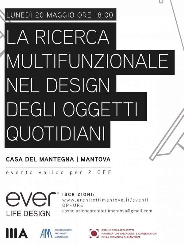 EVER Life Design per MantovArchitettura 2019