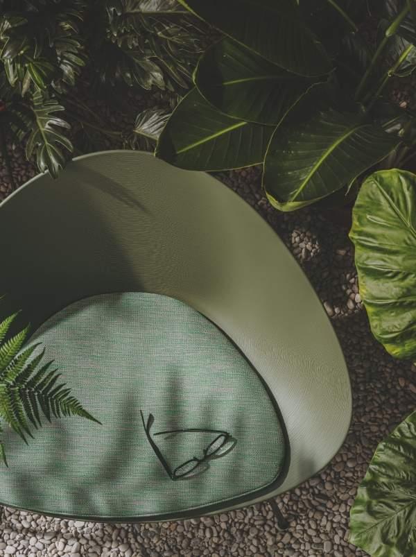 Adell di Arper: una lounge dal carattere green