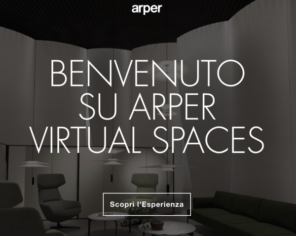 Arper presenta Virtual Spaces