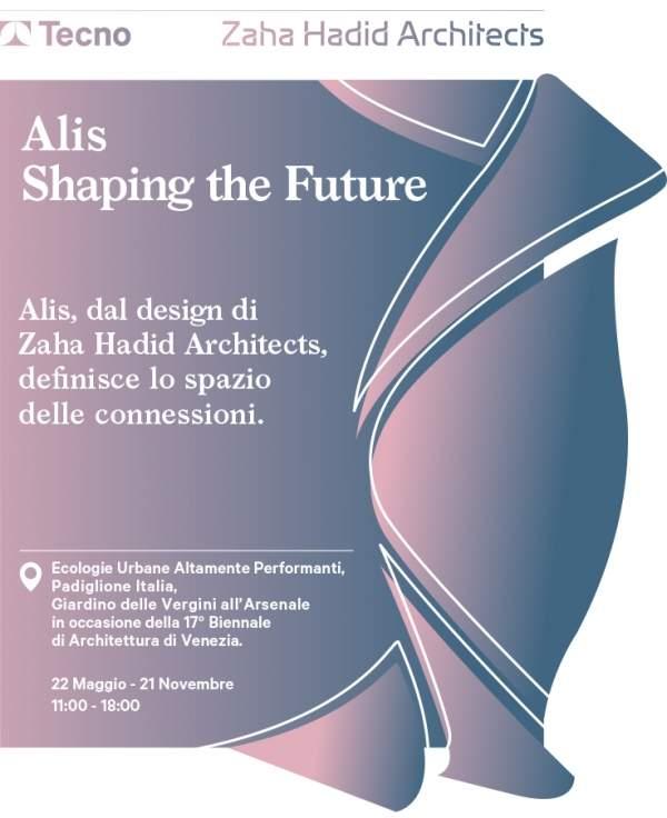 Alis by Zaha Hadid Architects and Tecno