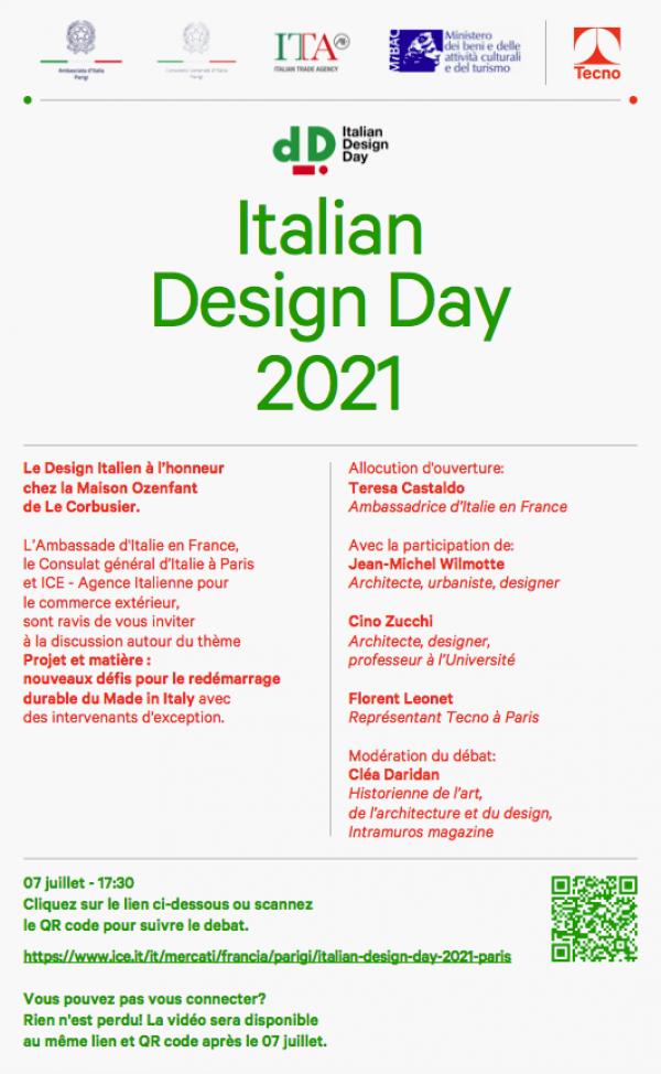 Alla Maison Ozenfant di Le Corbusier a Parigi l'Italian Design Day 2021