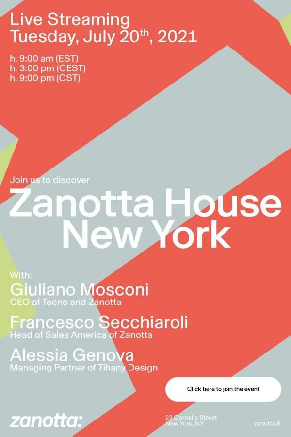 Zanotta House New York