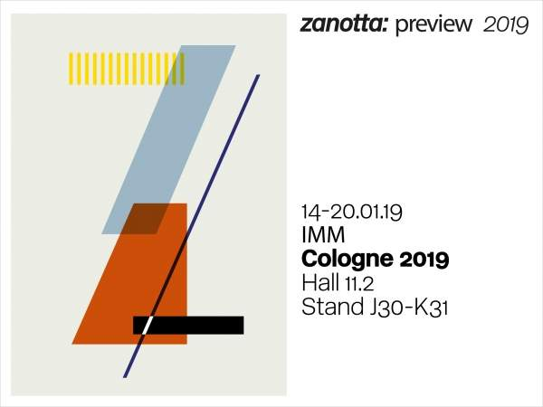 Zanotta at Imm Cologne