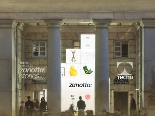Showroom Zanotta Milano, Caselli Daziari - Piazza XXV Aprile 16