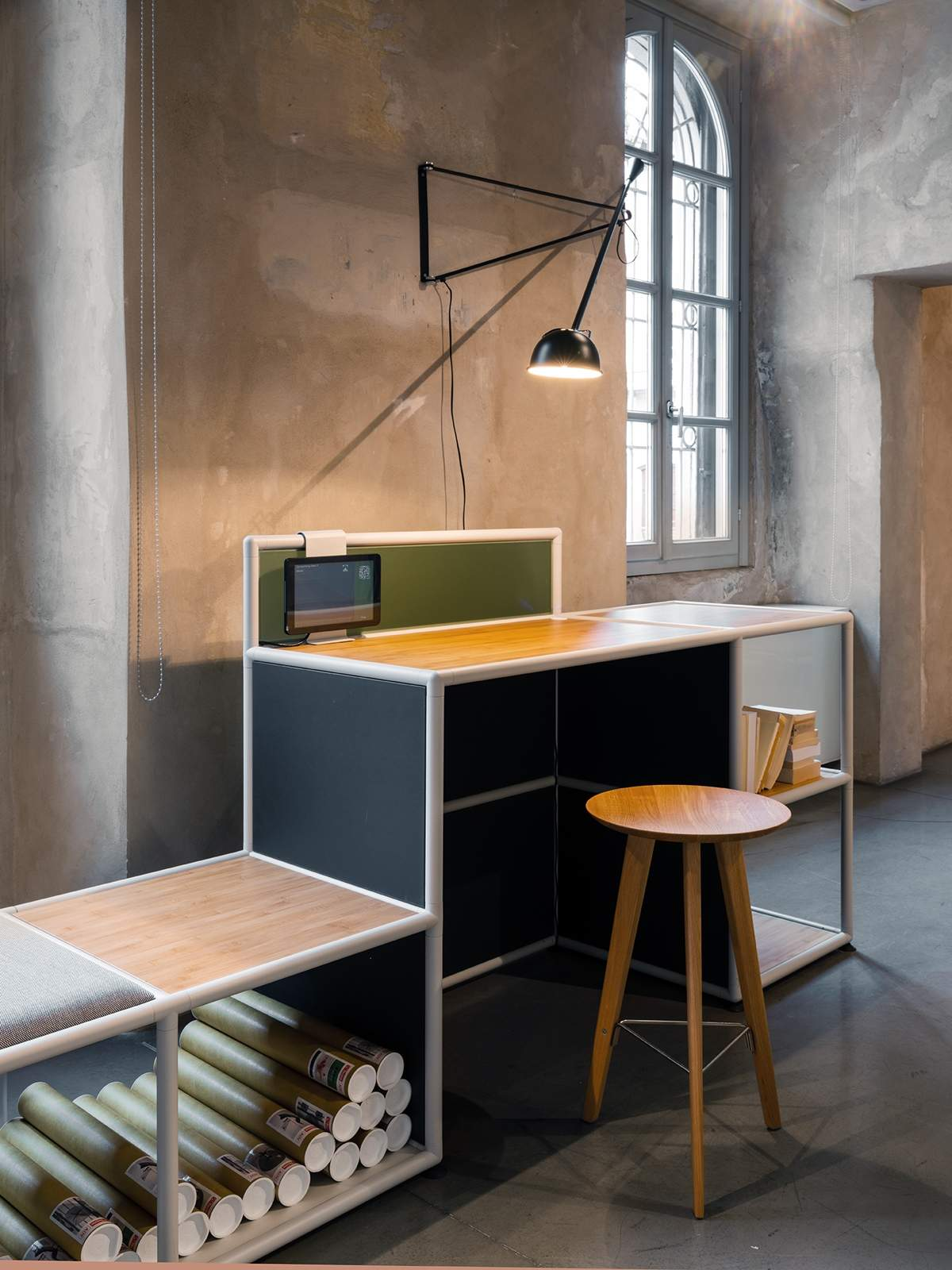 <strong>Linea</strong>, design Zanon Architetti Associati e Centro Progetti Tecno (Caselli-Fuorisalone 2019)