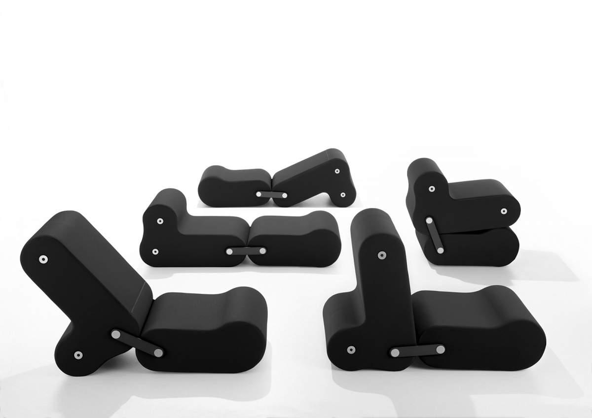 <strong>Multichair</strong>, design Joe Colombo